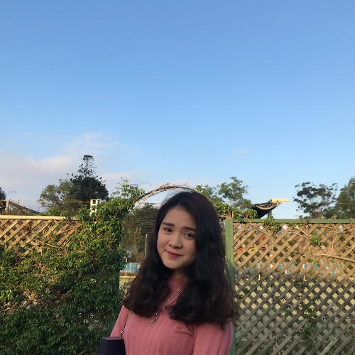 Hue Anh (Jenny) - Sydney: Hi, my name is Hue Anh, but you can ...