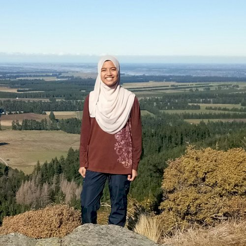 Inani - Christchurch: I'm Inani from Malaysia. Been speaking M...