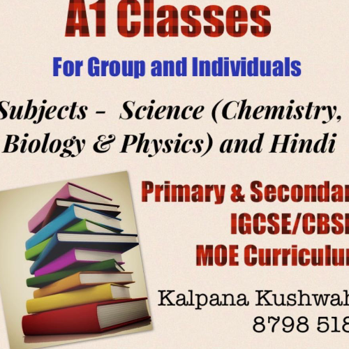 Kalpana - Singapore: I am a Science postgraduate... having 8 +...