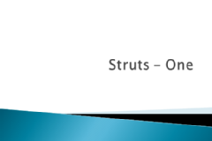 Struts One