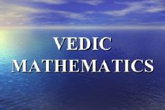 Vedic maths  e magic