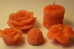 Candle making hobby