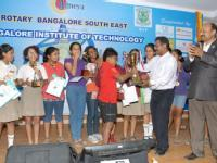 Inter School Spelling Competition – SPELLSTAR - 2013 By Rotary Bangalore South East in Association with Bangalore Institute of Technology, Bangalore