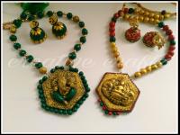 Professional terracotta jewellery making