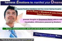 Emotional Management & Manifesting Goals