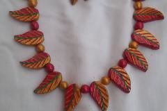Terracotta jewellery making class in Tirupur