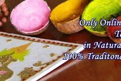 Online Tanjore Painting classes in natural Colours