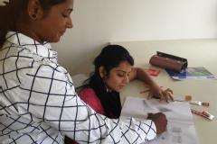 Stiching / Tailoring class at ICS EDUCATION