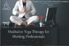 Meditative Yoga Therapy for Working Professionals