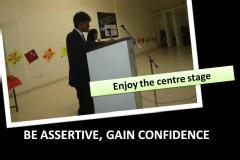 Be Assertive, Gain Confidence