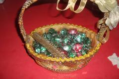 Trousseau packing ideas,wedding packings,chocolate packings,cosmatic packings,garlands making,gift packings at siruvapoori murugan sewing school - Chennai