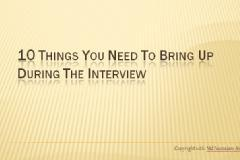 How to face Interview And what not to do in interview