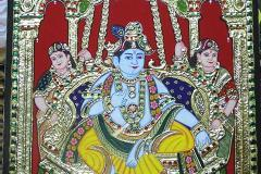 Tanjore Painting Classes taught using Traditional method