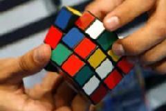 Solve Rubik's Cube in 8 steps