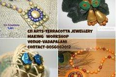 Terracotta  jewellery making classes
