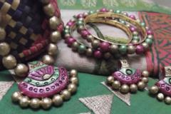 Terracotta jewellery making workshop