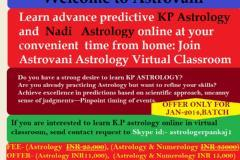 Online Astrology class