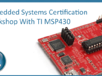 Embedded Systems Certifictation with TI MSP430