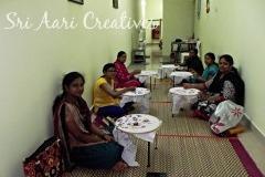 Aari Embroidery Classes Chennai Basic & Advance Level, Saidapet