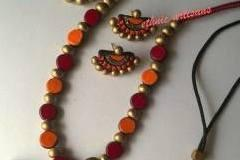Terracotta jewellery making classes in Hyderabad along with BAKING VIDEO