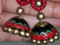Terracotta jewellery making classes in Bangalore along with BAKING VIDEO.