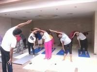 Yoga at Sol Essence Centre for Wellbeing Weekend