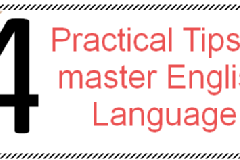 4 Easy Tips to master English Language