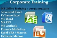 Advanced Excel Training: Corporate