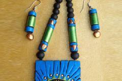 Terracotta jewellery making