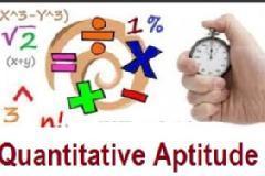 Quantitative Aptitude-I for Bank PO