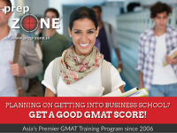 GMAT with prep zone