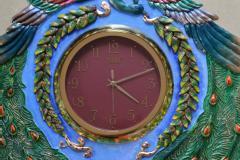 Handmade designer clock