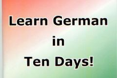 Learn German in Ten Days!