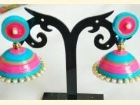 Fashion jewellery making and paper quilling and paper quilling jewellery making
