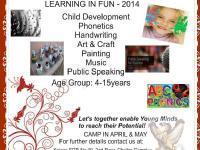Learning in Fun-2014