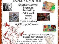 Learning in Fun-2014