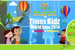 Times Kidz World '14 at Hotel Lalit Ashoka