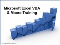 Microsoft Excel VBA and Macro Training on Weekend
