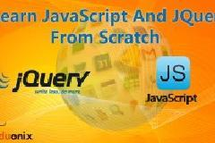 Learn JQuery And JavaScript From Scratch