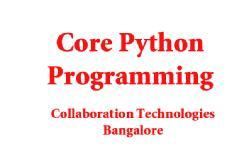 PYTHON PROGRAMMING - TRAINING & WORKSHOP ( 5 DAYS)