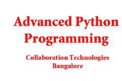 ADVANCED PYTHON PROGRAMMING WORKSHOP AND TRAINING ( 5 DAYS )