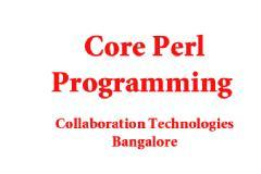 PERL PROGRAMMING - TRAINING & WORKSHOP ( 5 DAYS)
