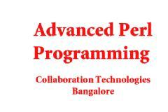 PERL ADVANCED PROGRAMMING WORKSHOP AND TRAINING ( 5 DAYS )