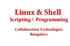 LINUX BASICS & SHELL SCRIPTING WORKSHOP AND TRAINING ( 5DAYS )