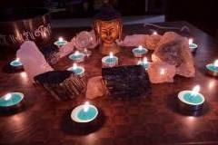 Reiki and Crystal Therapy with chakra balacing