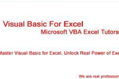 Excel Macro for Absolute Beginners