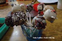 Cake lollies