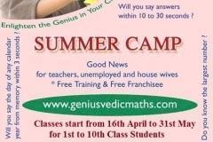 Summer Camp on Genius Abacus