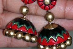 Terracotta jewellary design