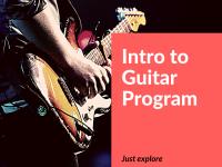 Pre Basic Guitar Program